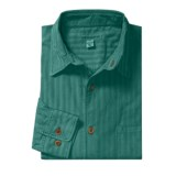 Martin Gordon Subtle Stripe Sport Shirt - Pigment-Dyed Corduroy, Long Sleeve (For Men)