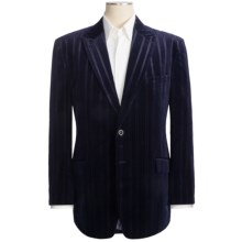 Martin Gordon Velvet Blazer (For Men) in Navy - Closeouts