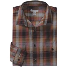 Martin Gordon Vintage Plaid Shirt - Long Sleeve (For Men) in Rust/Brown - Closeouts