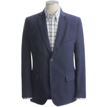 Martin Gordon Washed Sport Coat - Silk-Linen (For Men) in Navy - Closeouts