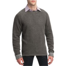 Martin Gordon Wool Sweater - Crew Neck (For Men) in Light Grey - Closeouts