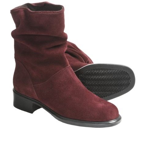 Martino Colorado Boots - Waterproof, Suede (For Women) in Bordeaux