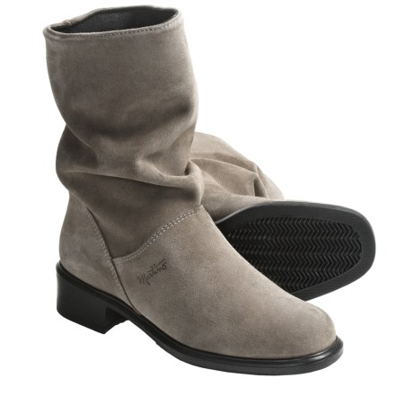 Martino Colorado Boots - Waterproof, Suede (For Women) in Forest Green
