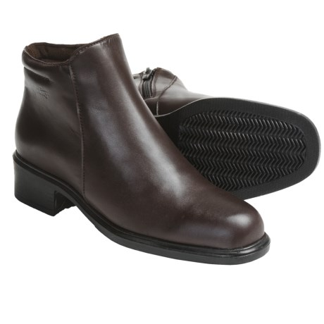 Martino Helen Boots - Waterproof, Leather (For Women) in Chocolate