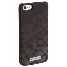 Marware MicroShell iPhone® 5 Case in Onyx Flowerbed - Closeouts