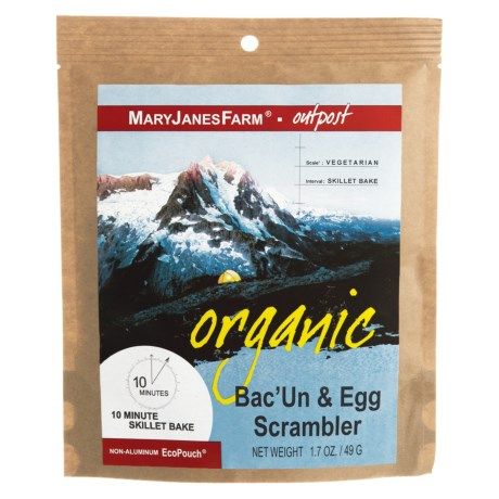 MaryJanesFarm Organic Bacon and Egg Scrambler - Vegetarian, 1.5 Servings in See Photo