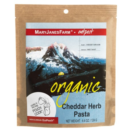 MaryJanesFarm Organic Cheddar Herb Pasta - Vegetarian, 1.5 Servings in See Photo