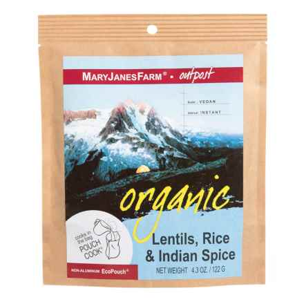 MaryJanesFarm Organic Lentils Rice and Indian Spice - 1.5 Servings in See Photo - Closeouts