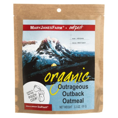 MaryJanesFarm Organic Outrageous Outback Oatmeal - Vegan, 1.5 Servings in See Photo