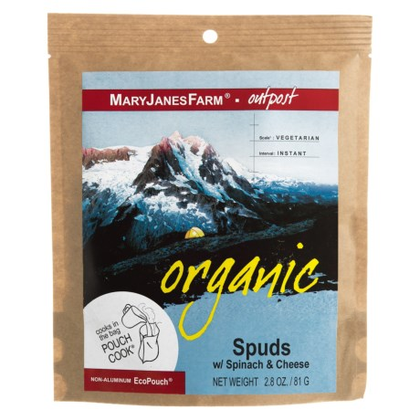 MaryJanesFarm Organic Spuds with Spinach and Cheese - Vegetarian, 1.5 Servings in See Photo