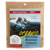 MaryJanesFarm Organic Wild Forest Mushroom Couscous - Vegan, 1.5 Servings