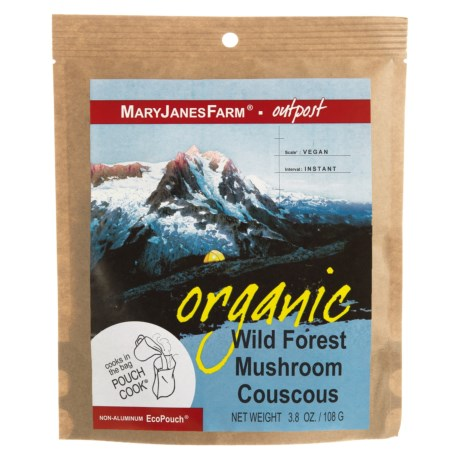 MaryJanesFarm Organic Wild Forest Mushroom Couscous - Vegan, 1.5 Servings in See Photo
