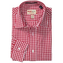 Mason's Gingham Shirt - Long Sleeve (For Men) in Red - Closeouts