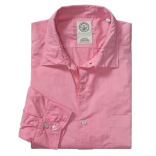 Mason's Trim Fit Sport Shirt - Lightweight Cotton, Long Sleeve (For Men) in Pink - Closeouts