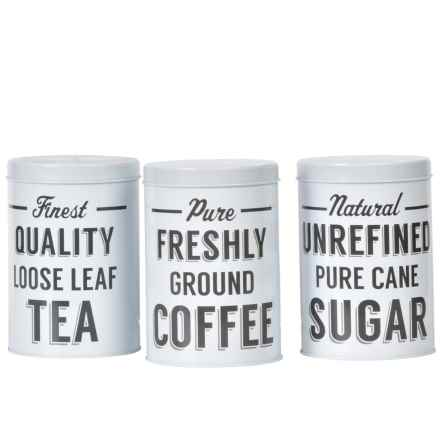 Mason Cash Baker Lane Storage Canister Set - 3-Piece in See Photo - Closeouts