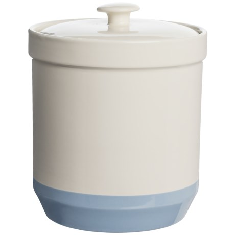 Mason Cash Bakewell Ceramic Canister - 100 oz. in Pale Blue