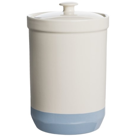 Mason Cash Bakewell Ceramic Canister - 81 oz. in Pale Blue