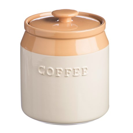 Mason Cash Cane Collection Stoneware Coffee Canister - 40.5 oz. in Buttercream