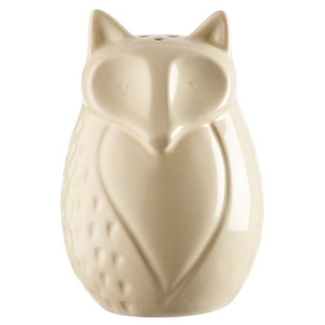 Mason Cash In the Forest Fox Ceramic Pepper Shaker in Vintage Cream