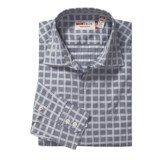 Mason's Check Trim Fit Sport Shirt - Cotton, Long Sleeve (For Men)