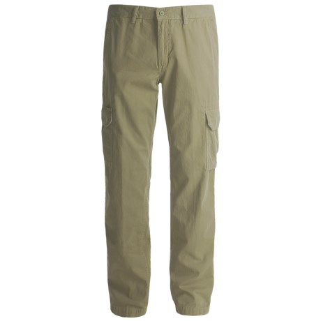 Mason's Cotton Cargo Pants (For Men) in Olive