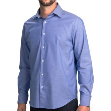 Mason's Solid Shirt - Spread Collar, Long Sleeve (For Men) in Blue - Closeouts