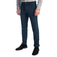 Mason's Tricotine Pants - Stretch Cotton (For Men) in Navy - Closeouts