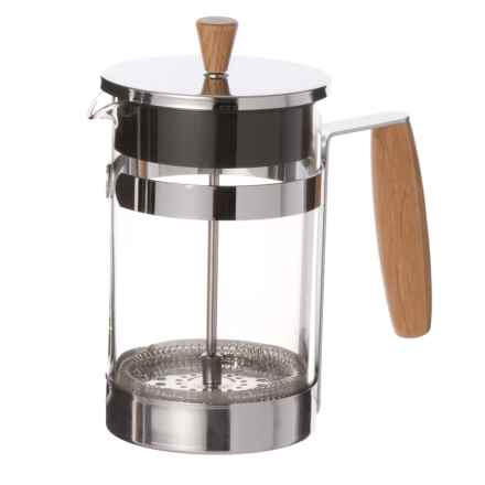 Masterclass Oak Handle Coffee Press - 6-Cup in See Photo - Closeouts