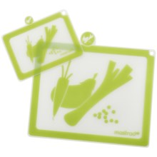 Mastrad Cutting Boards - Set of 2 in Green - Closeouts