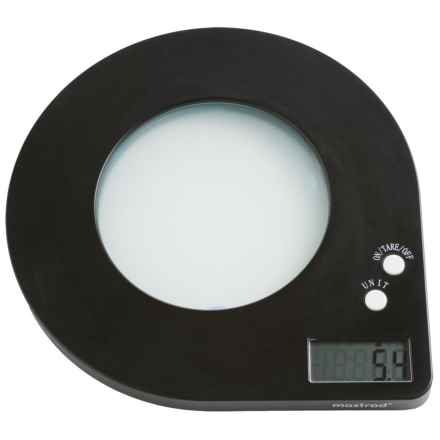Mastrad Digital Scale with Backlight in Black - Closeouts