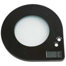 Mastrad Digital Scale with Black Light in Black - Closeouts