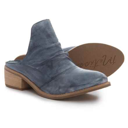 Matisse Augustine Mule Shoes - Leather (For Women) in Blue - Closeouts