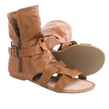 Matisse Baggins Gladiator Sandals - Leather (For Women) in Tan - Closeouts