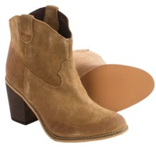 Matisse Bess Suede Ankle Boots (For Women) in Cognac - Closeouts