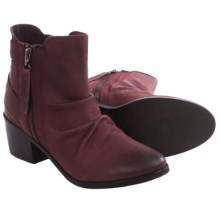 Matisse Bison Suede Ankle Boots (For Women) in Plum - Closeouts