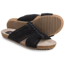 Matisse Colette Suede Sandals (For Women) in Black - Closeouts