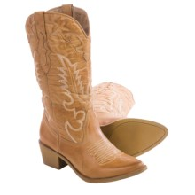 Matisse Desperado Cowboy Boots - Vegan Leather (For Women) in Natural - Closeouts