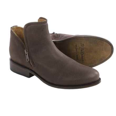 Matisse Kerr Ankle Boots - Leather (For Women) in Brown Leather - Closeouts