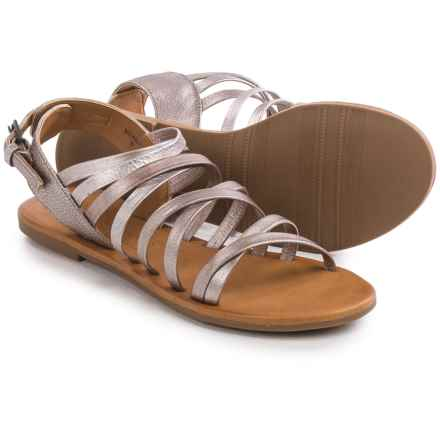 Matisse Montauk Strappy Sandals - Leather (For Women) in Gold - Closeouts