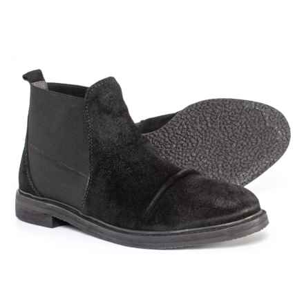 Matisse Vin Chelsea Boots - Suede (For Men) in Black - Closeouts
