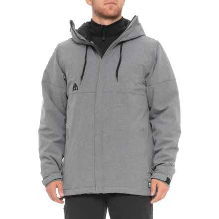 Matix Glenic Snowboard Jacket - Waterproof, Insulated (For Men) in Grey Melange - Closeouts