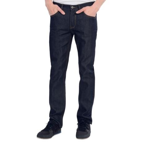 Matix Turkey Gripper Denim Pants - Slim Straight Cut (For Men) in Raw Denim