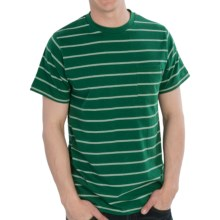 Matix Wire T-Shirt - Cotton, Short Sleeve (For Men) in Forest Green - Closeouts
