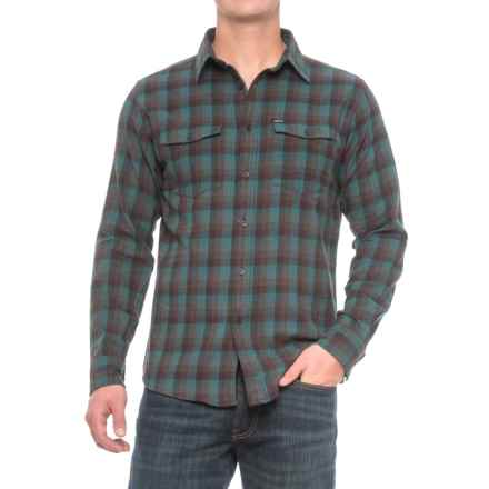 Matix Woodberry Flannel Shirt - Long Sleeve (For Men) in Blue - Closeouts