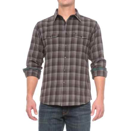 Matix Woodberry Flannel Shirt - Long Sleeve (For Men) in Charcoal - Closeouts