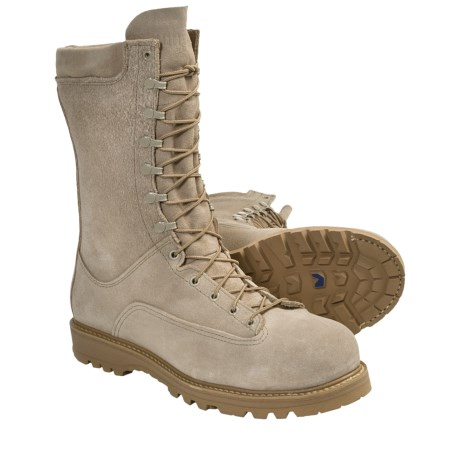 "Matterhorn Gore-Tex® Army Boots - Waterproof, Insulated, 10"" (For Men and Women) in Desert Tan"