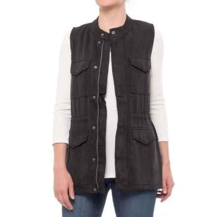 matty m Utility Vest (For Women) in Black - Closeouts