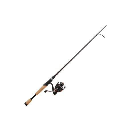 "Matzuo Red Series Spinning Rod and Reel Combo - 2-Piece, 6'6"", Medium in See Photo"