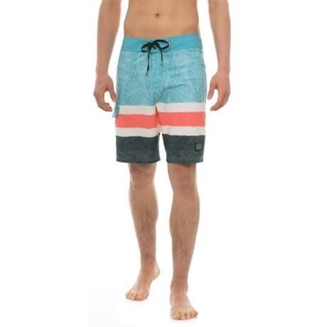 Maui & Sons Pineapple Haze Boardshorts (For Men) in Reef Waters