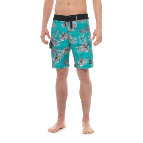 Maui & Sons Surf Swell Boardshorts (For Men) in Blue